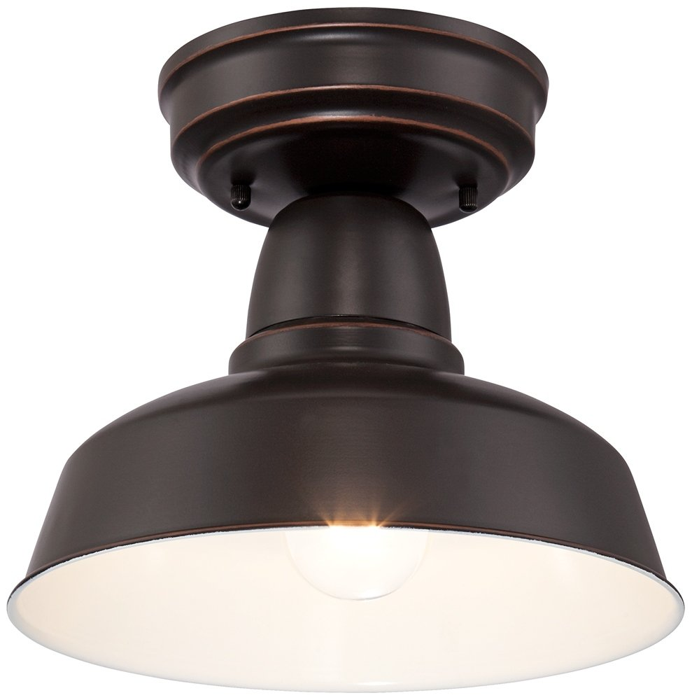 Urban Barn Collection 10 1/4''W Bronze Outdoor Ceiling Light