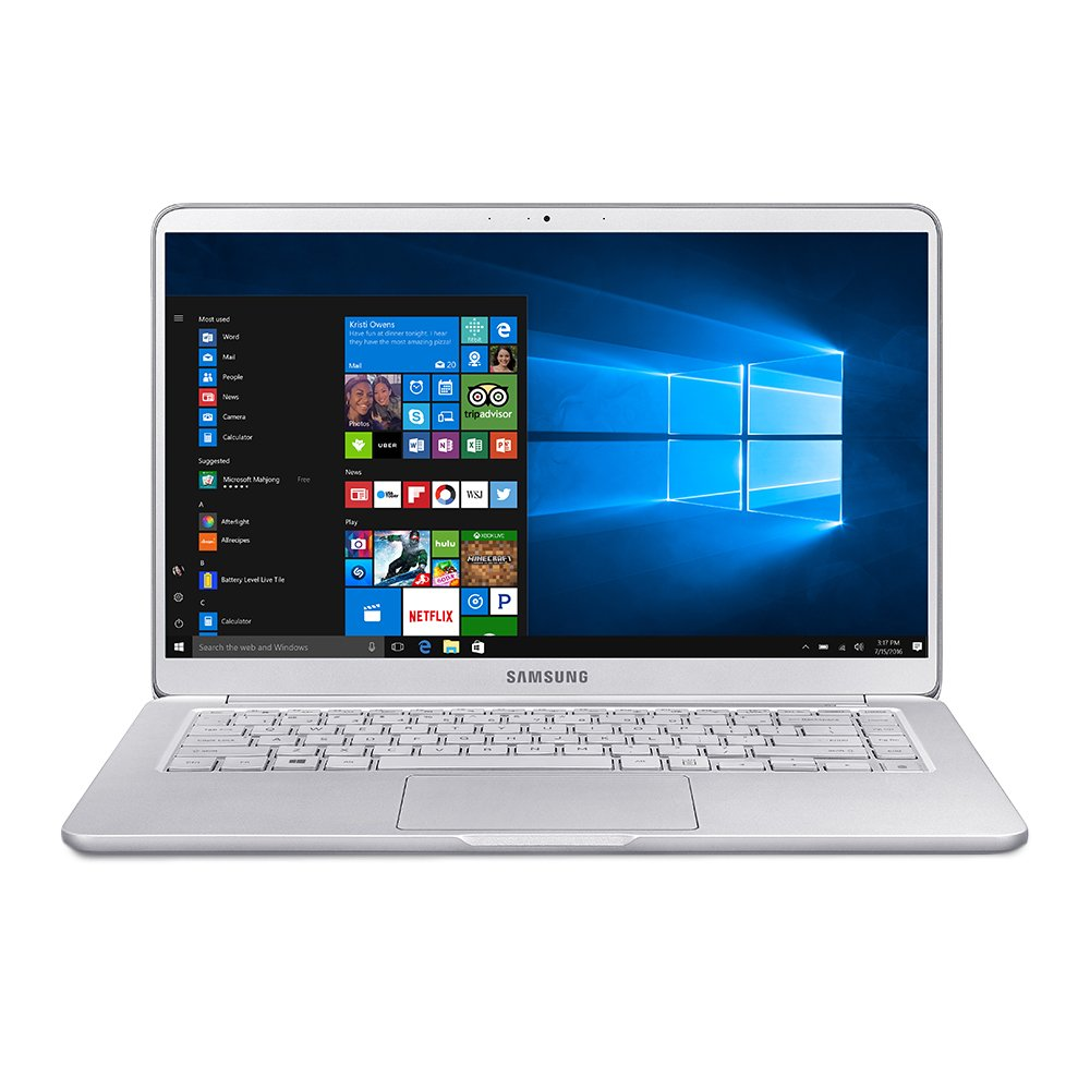 SAMSUNG 15.0 16GB Memory 256 GB SSD Laptop Notebook 9 Intel Core i7 8th Gen 8550U 1.80 GHz NVIDIA GeForce MX150 Windows 10 Home 64-Bit Model NP900X5T-X01US
