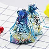 Small Wedding Party Christmas Organza Sheer Favor