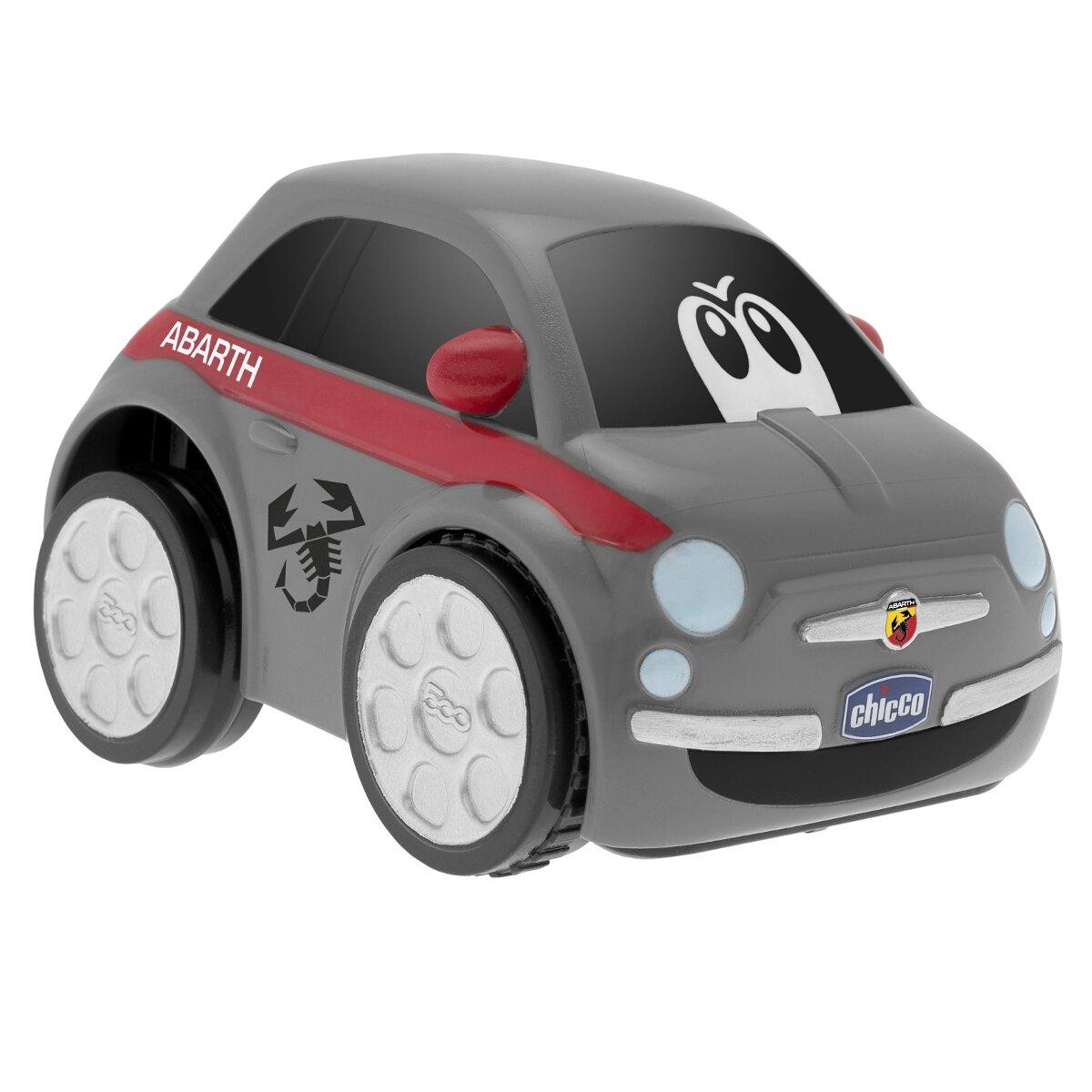 Chicco Fiat 500 Turbo Touch, alcanza hasta los 10 Metros, Color Gris: Amazon.es: Juguetes y juegos