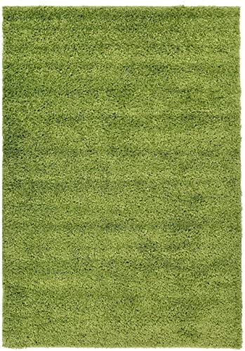 RugStylesOnline, Shaggy Collection Shag Area Rugs, 6 7 x9 6 – Green
