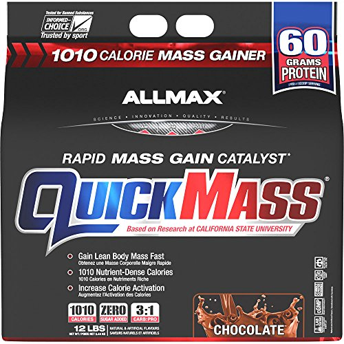 Allmax Quickmass Loaded 12lbs Chocolate by ALLMAX NUTRITION