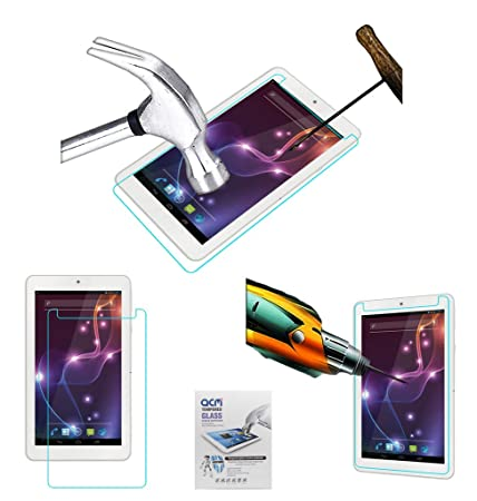 Acm Tempered Glass Screenguard Compatible with Lava Ivory Xtron Z704 Screen Guard Scratch Protector Screen Protectors
