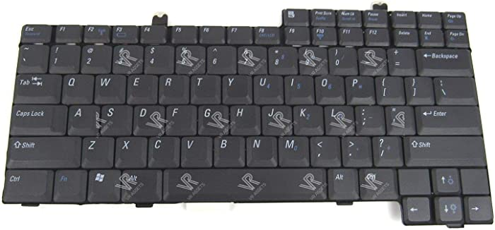 3CLeader Laptop Keyboard for Dell Inspiron 500M 600M 8500 8600 Latitude D500 D600 D800 1M722