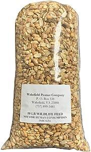 Wakefield Virginia Shelled Bird Feed Peanuts, 20 LBS