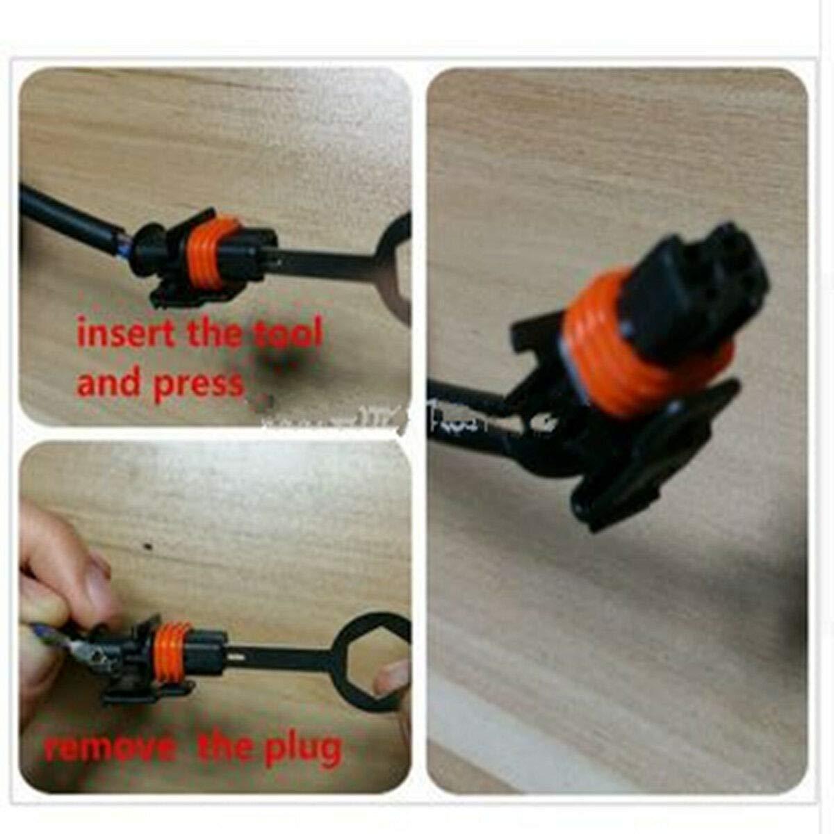 Tool-Kit zum Entfernen der Entriegelungsklemme f/ür den Auto-Sound Kabelstecker-Abzieher 11-tlg