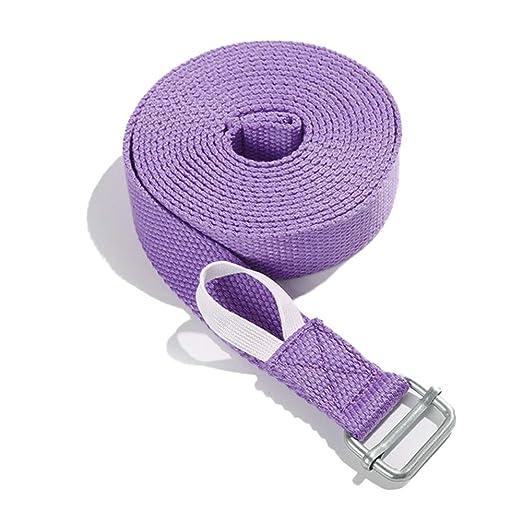Correa De Yoga, Cinturón De Estiramiento Ajustable De ...