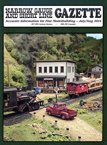 Grande Rio Caboose - Narrow Gauge & Short Line Gazette : Articles: Mount Tamalpais & Muir Woods Railway #9; Death Valley Railroad Caboose; Rio Grande Southern Caboose; Glenwood & Black Creek Railroad HOn3