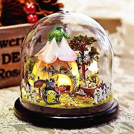 Amazon.com: Happiness My Neighbor Totoro caja de luz LED ...