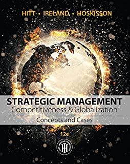 Amazon loose leaf marketing the core 7e 9781260152135 roger strategic management concepts and cases competitiveness and globalization mindtap course list fandeluxe Choice Image