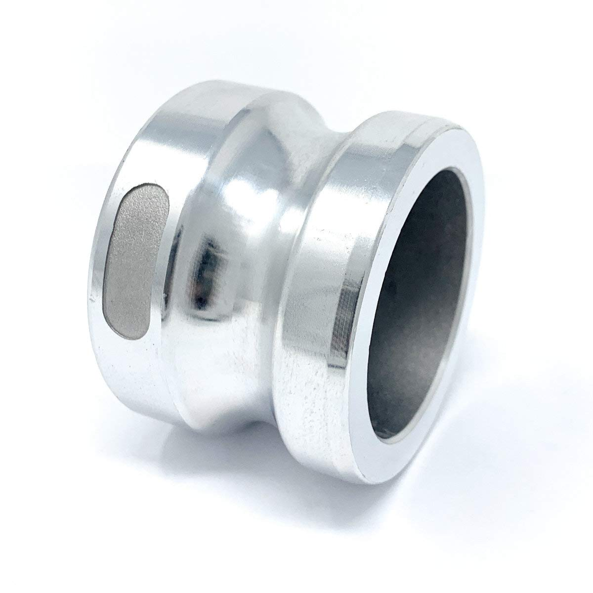 Aluminum CAM-20-DP-AL 2 Male Camlock Dust Plug Type DP Gloxco Cam and Groove Fitting