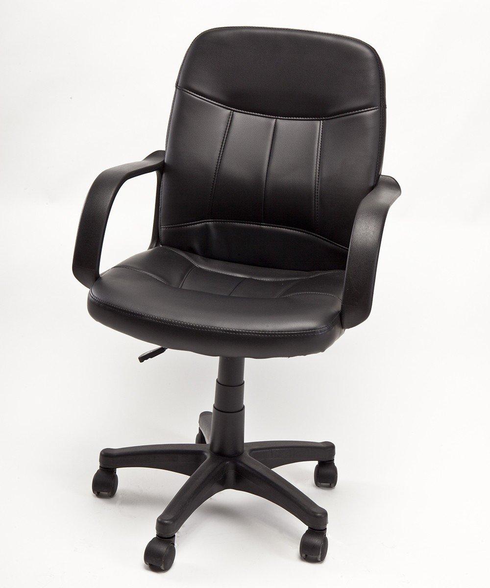 Poltrona Girevole con rotelle da scrivania per Ufficio operativa Modello crono