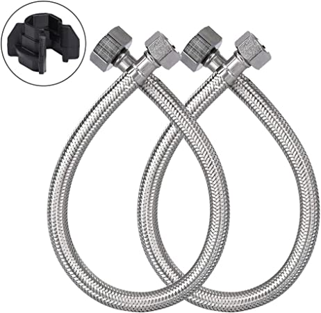 Anti-bending Threaded Hose Water Pipe Connector Tap Faucet Adapter for Garden L