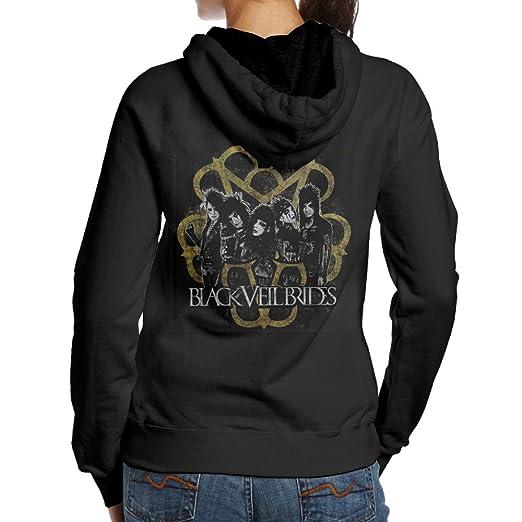 Amazon.com  Printed Hoodies Black Veil Brides Album Womens Hooded ... 3744289d9