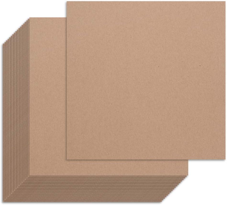8 x 8 BOX USA BVCIS88 30# VCI Paper Sheets Pack of 1000 Kraft