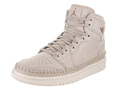watch 0d589 9315c Jordan Women s WMNS Air 1 RET HI PREM, Desert Sand MTLC RED Bronze,