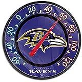 Ravens WinCraft NFL Round Thermometer