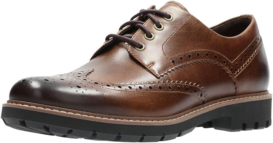 TALLA 44 EU. Clarks Batcombe Wing, Zapatos de Cordones Derby