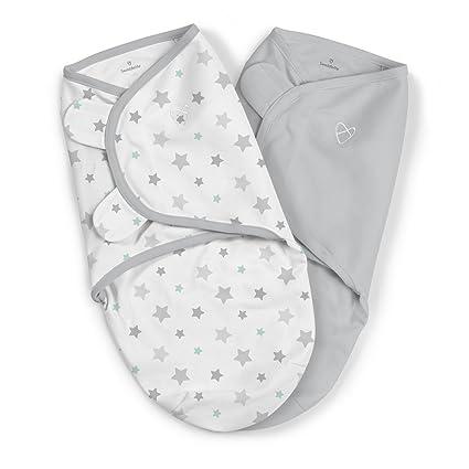 SwaddleMe ** 2er SparPack - Original Swaddle ** Pucksack/Schlafsack für unruhige Babys und Schreibabys (Stary Skies)