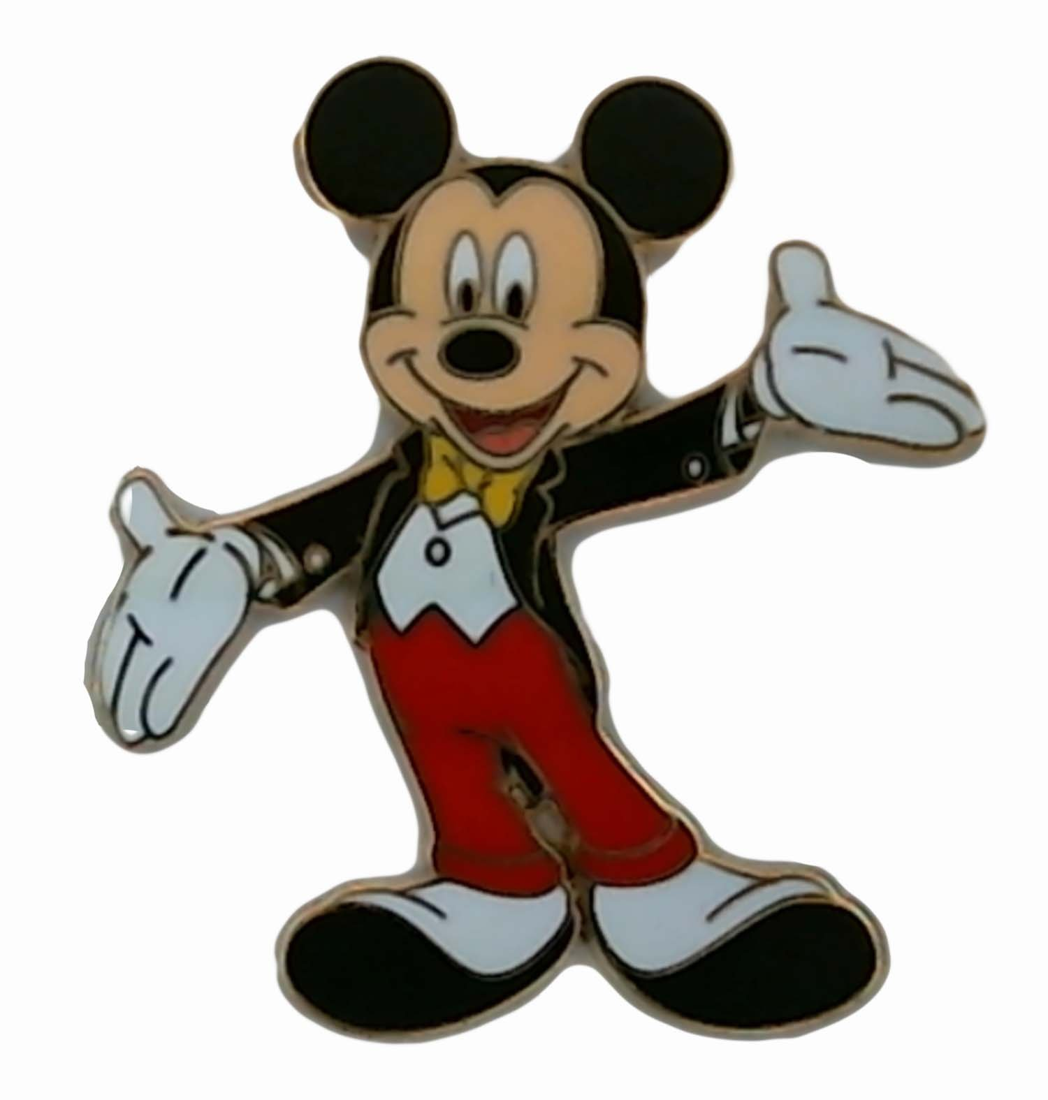 Disney Pin - Mickey Mouse in Tuxedo - Pin 43627