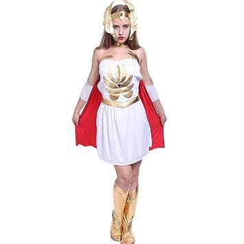 She-Ra 80s Superhero Ladies Fancy Dress He-Man Film u0026 TV Cartoon Womens  sc 1 st  Amazon UK & She-Ra 80s Superhero Ladies Fancy Dress He-Man Film u0026 TV Cartoon ...