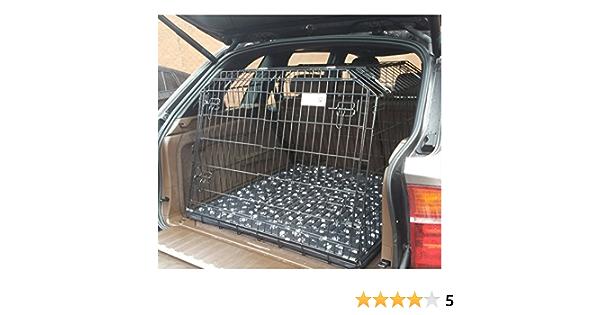 Pet World UK COMPATIBLE JAULA PARA PERROS PARA EL COCHE PARA BMW X5 soporte de cachorro de guardia delantero inclinado