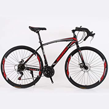 LISI Bicicleta de montaña Bicicleta de Velocidad Variable Adultos, Hombres y Mujeres Estudiantes Bicicletas dobladas 21 Bicicleta de montaña acelerada,Red: Amazon.es: Deportes y aire libre