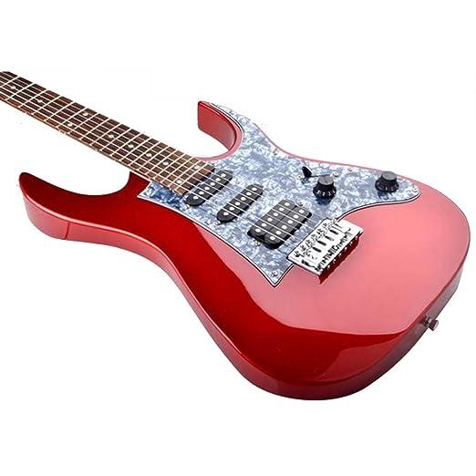 ZJJXD 24 Guitarra Eléctrica Individual, Guitarra Eléctrica para ...