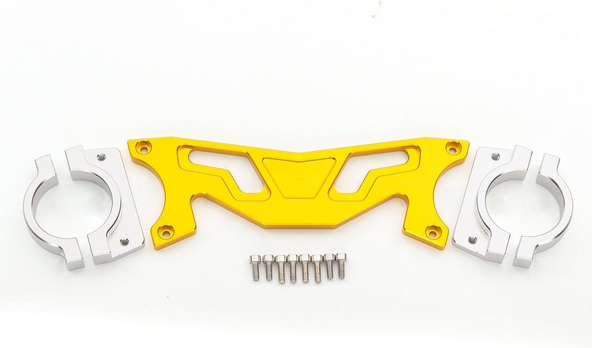 FXCNC Racing Motorcycle Front Shock Absorber Damper Balance Brace Fork Bracket Fit For HONDA GROM MSX125 2012 2013 2014 2015 2016 2017 2018