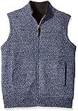 Pendleton Men's Reversible Territory Vest, Twilight Blue Heather, LG
