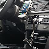 usb dash insert - LUOMULONG Universal Car Mount Charger, Car Mount Phone Charger Holder 2.1A 2 USB Charging Cigarrette Lighter Windshield Dashboard Stand for iPhone 7s 6s Plus 5s 5c Samsung Galaxy S8 Edge S7 S6 Note 5