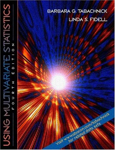 Using Multivariate Statistics (4th Edition)