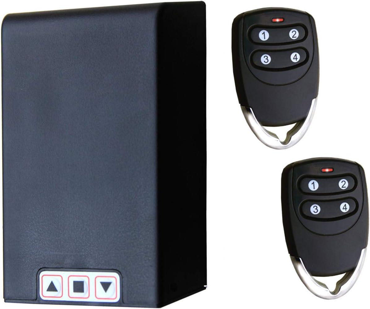 Kit TM5811 centrale universelle avec Télécommande pour Volets roulants et stores-Fonctionne sur tout volet récepteur 1HP pour télécommandes compris et possibilité de brancher cellules ou clignotant