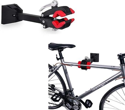 Estante almacenamiento soporte trabajo bicicleta bicicleta, Soporte reparación bicicleta Soporte trabajo estante montaje en pared bicicleta plegable, Mantenimiento mecánico bicicletas para almacenami: Amazon.es: Hogar