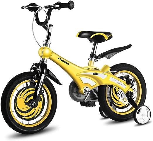 Bicicleta para niños, Bicicleta para bebés de 2 a 8 años con Rueda ...