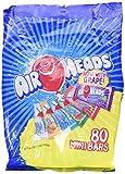 AirHeads 80 Mini Bars Fun Taffy Candy Assorted Fruit Flavors 32.17oz (912g) air heads