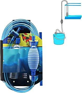 Qhoow Limpiador del Tanque de Peces con el Flujo de Controler Tap ...