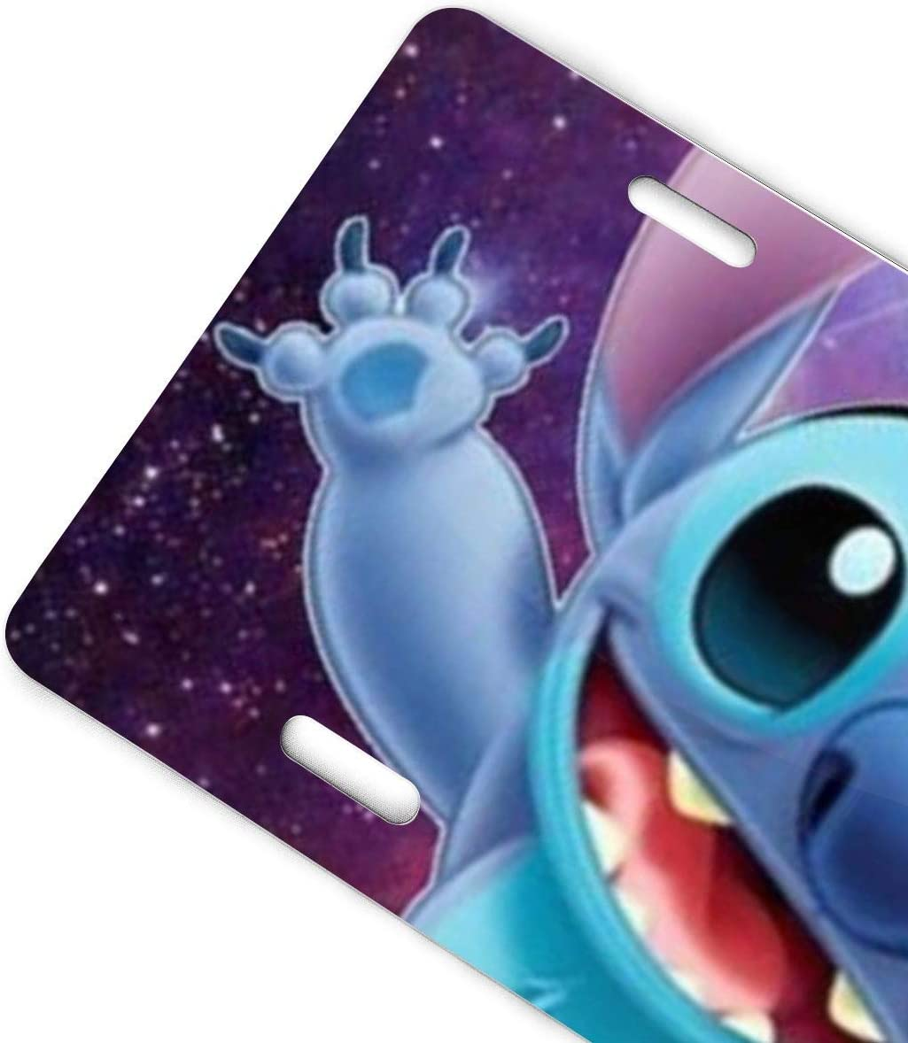 Stitch Ice Cream License Plate Sign Tag Car Accessories 12 X 6 in