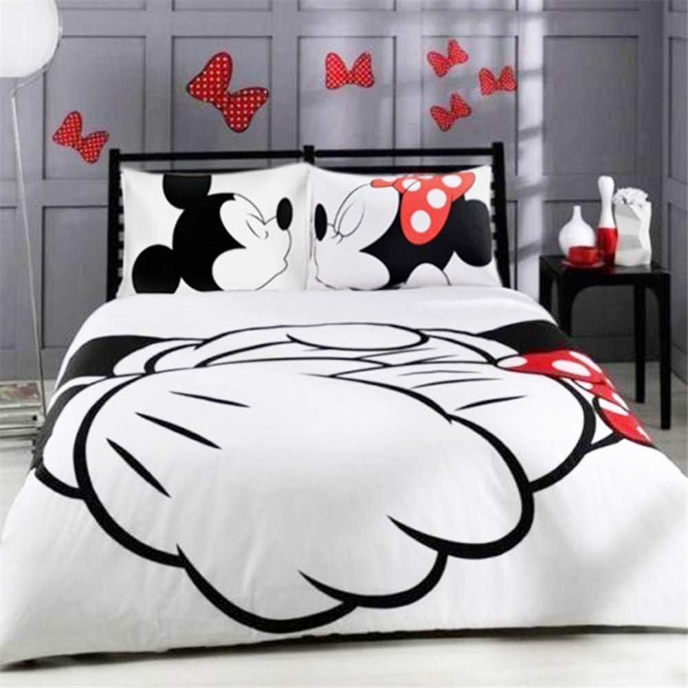 conjunto 135x200 80x80 cm cremallera Ropa de cama impresión fotográfica algodón 2 pzas