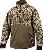 Drake LST Heavyweight Eqwader Quarter Zip Jacket (Realtree Max-5) (Men's XL)