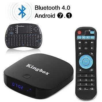 Kingbox – TV Box K1 Plus con Android 7.1 de 2018, 2 GB de RAM