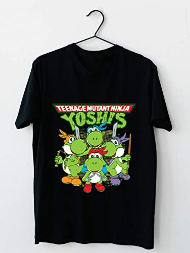 Amazon.com: Teenage Mutant Ninja Yoshis 64 T shirt Hoodie ...