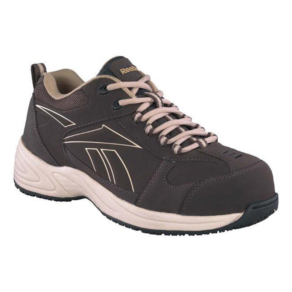 Reebok Mens Jorie Composite Toe Sneaker Black 4.5 M