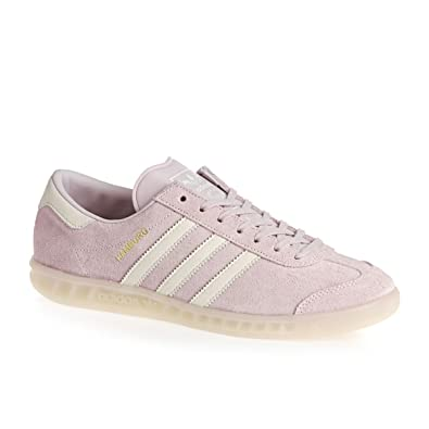 adidas Hamburg W Ice Purple White White 37: