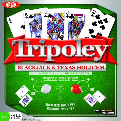 Ideal Tripoley Black Jack and Texas Hold'em]()
