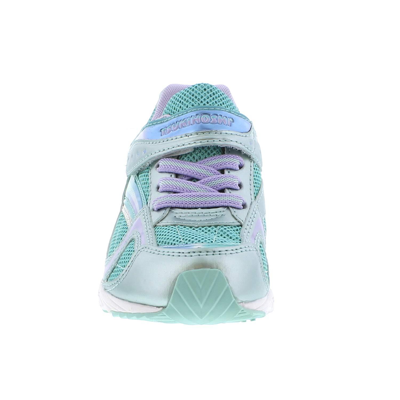 Toddler//Little Kid TSUKIHOSHI Kids Girls Glitz Mint//Lavender Sneaker