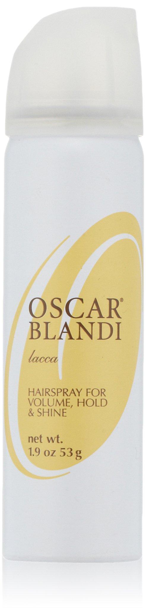 Oscar Blandi Lacca Hairspray for Volume, Hold & Shine, 1.9 oz.