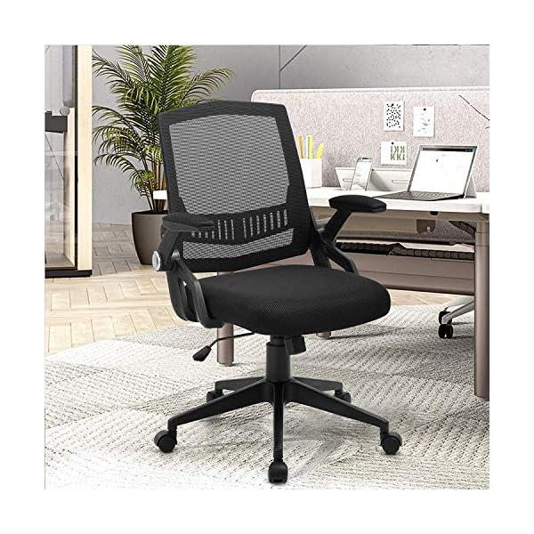 Comfortable Breathable Maximum Load 250 lb Office Chair Ergonomic ...