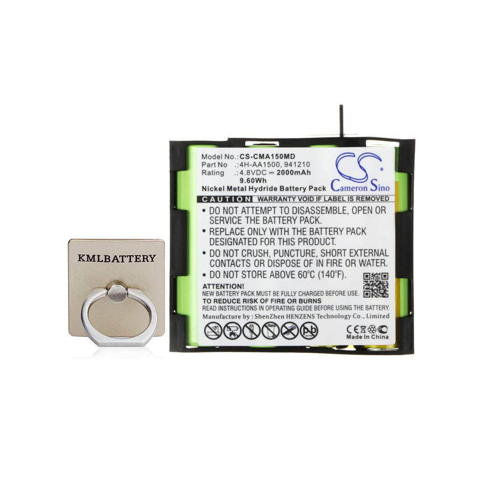Replacement Battery for Compex 4H-AA1500 941210, Compex Mi Mi-Sport MI-Fitness Runner Enegry Mi-Ready Vitality PerformanceE Mi-Ready FIT Sport Elite Enegry Edge US Performance US