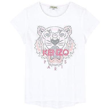 d3ef1f15e3 Amazon.com: Kenzo Kid Pink Tiger t-Shirt (4Y): Clothing